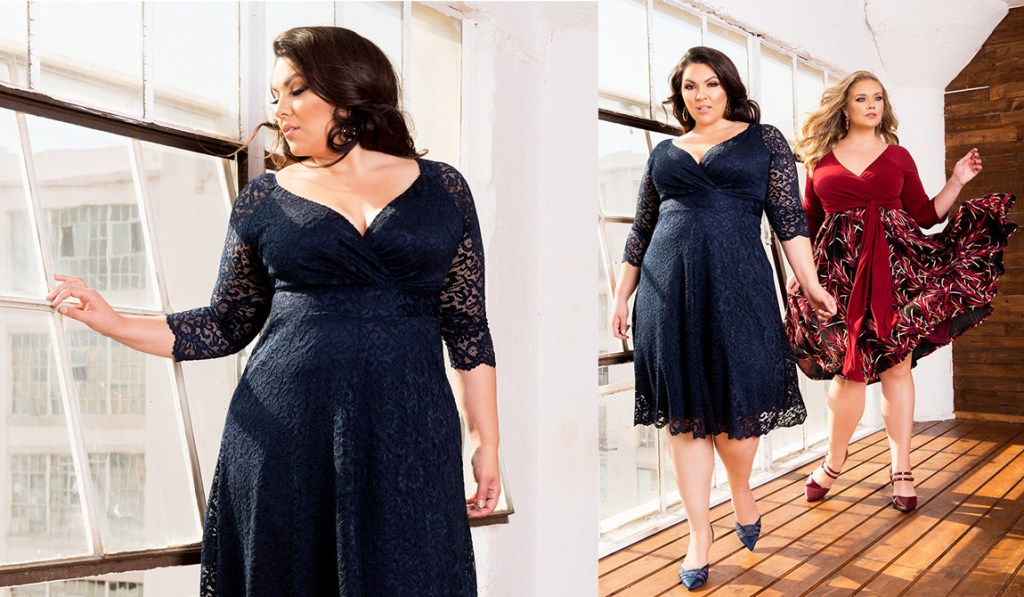 Plus Size Wedding Guest Dress Outfit Ideas - Plus Size Dress with Sleeves - Plus Size Fashion for Women - alexawebb.com #alexawebb