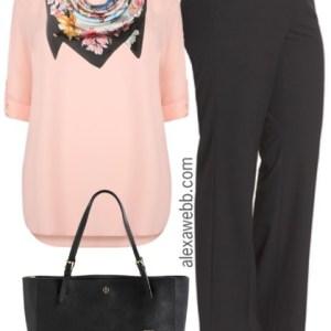 Plus Size Spring Business Casual Outfit - Plus Size Fashion for Women - alexawebb.com #alexawebb