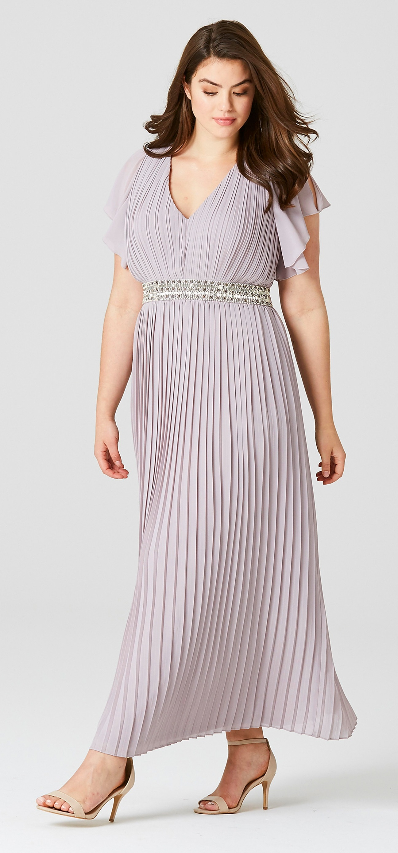 Genial 45 Plus Size Wedding Guest Dresses {with Sleeves}   Plus Size Cocktail  Dresses