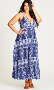 Plus Size Summer Maxi Dress Outfit - Plus Size Fashion for Women - alexawebb.com