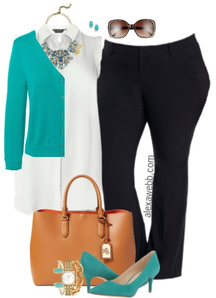 Plus Size Summer Work Outfit