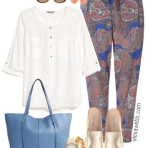 Plus Size Summer Work Outfit - Plus Size Fashion for Women - Plus Size Work Outfit - alexawebb.com #alexawebb