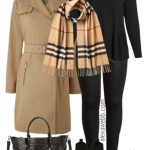 Plus Size Fall Layers Outfit - Plus Size Fashion for Women - alexawebb.com