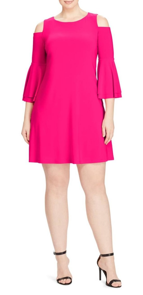 55 Plus Size Wedding Guest Dresses {with Sleeves} - Plus Size Cocktail Dresses - alexawebb.com