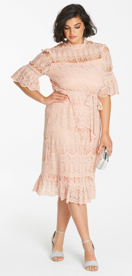 55 Plus Size Wedding Guest Dresses {with Sleeves} - Alexa Webb