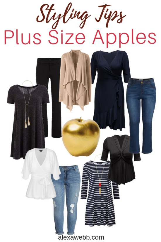 Styling Tips for Plus Size Apple Shapes - Alexa Webb