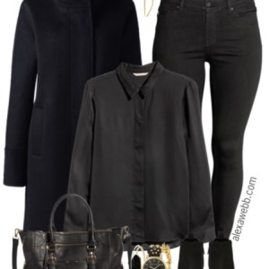 Plus Size All Black Outfit - Plus Size Casual Outfit - Plus Size Fashion for Women - alexawebb.com