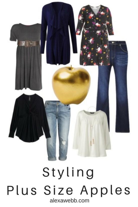 Styling Plus Size Apple Shapes - Plus Size Fashion for Women - alexawebb.com