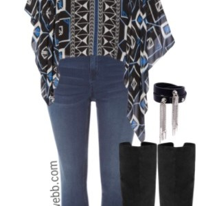 Plus Size Fall Over-the-Knee Boots Outfit, plus size fashion for women, alexawebb.com