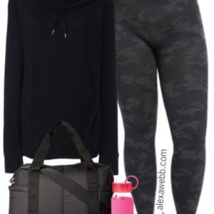 Plus Size Activewear - Plus Size Gym Outfit - Plus Size Workout Clothes - alexawebb.com #alexawebb
