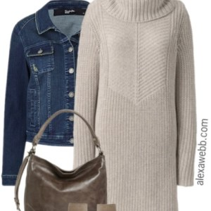 Plus Size Sweater Dress Outfits - Plus Size Fall Outfits - Plus Size Fashion for Women - alexawebb.com #alexawebb