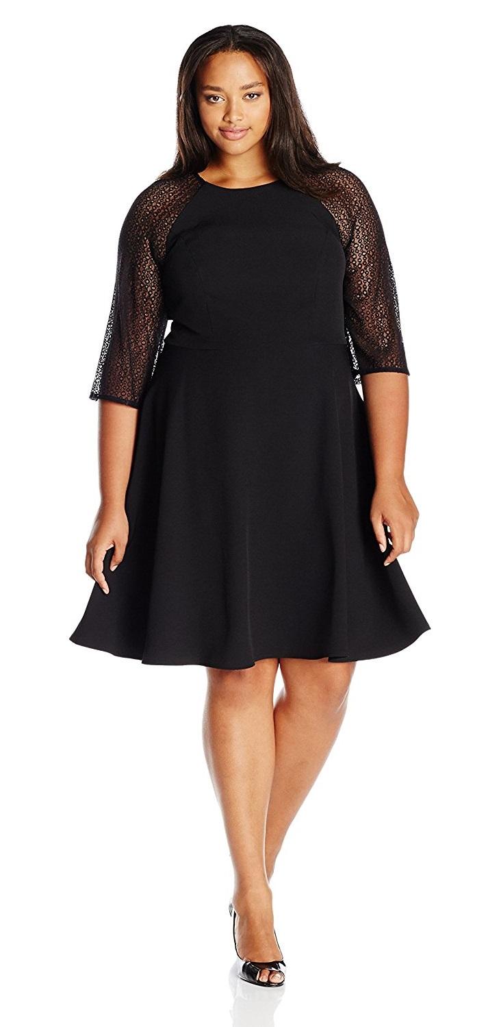 Black Plus Size Party Dresses