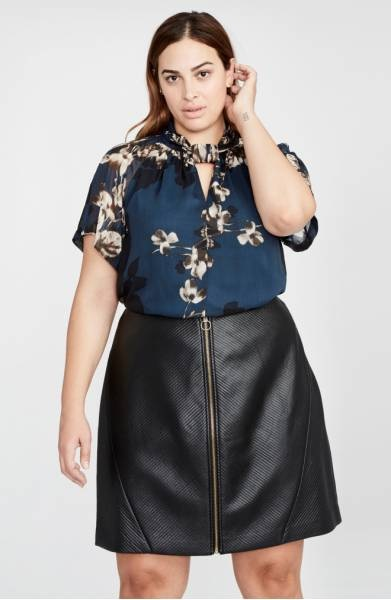 Styling Plus Size Pear Shapes - Plus Size Fashion for Women - alexawebb.com #alexawebb