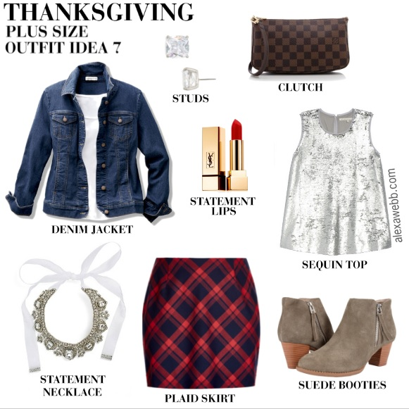 Plus Size Thanksgiving Outfits - Southern Edition