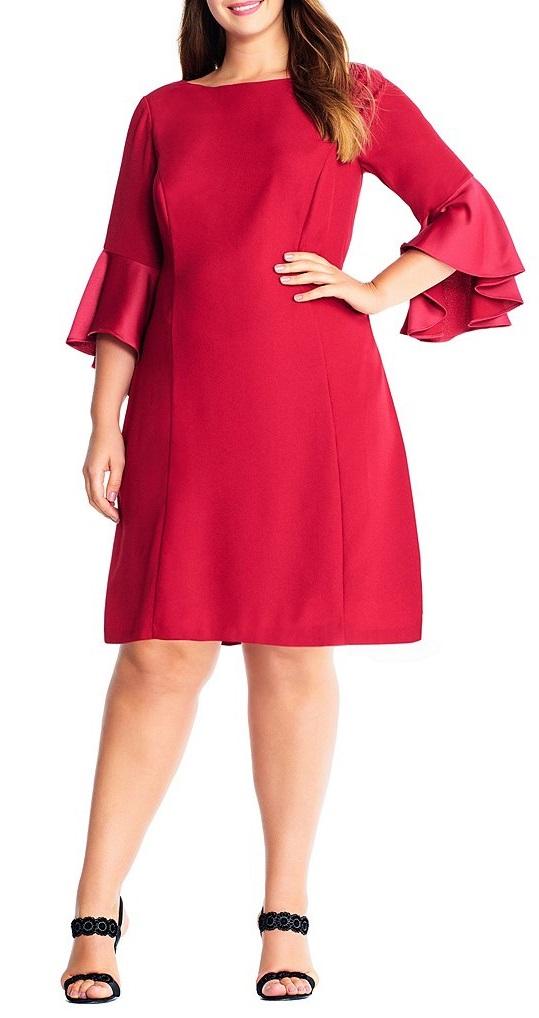 42 Plus Size Party Dresses {with Sleeves} - Plus Size Cocktail Holiday Party Dresses - Plus Size Fashion for Women - alexawebb.com #alexawebb #plussize #partydress