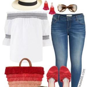 Plus Size Resort Outfit - Plus Size Fashion for Women - Plus Size Vacation Outfit - alexawebb.com #alexawebb #plussize