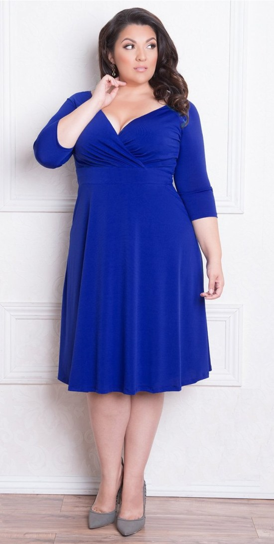 9b610c6f938 39 Plus Size Spring Wedding Guest Dresses  with Sleeves  - Plus Size Party  Dress