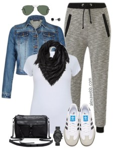 Plus Size Athleisure Outfit - Plus Size Casual Outfit - Plus Size Fashion for Women - alexawebb.com #alexawebb #plussize