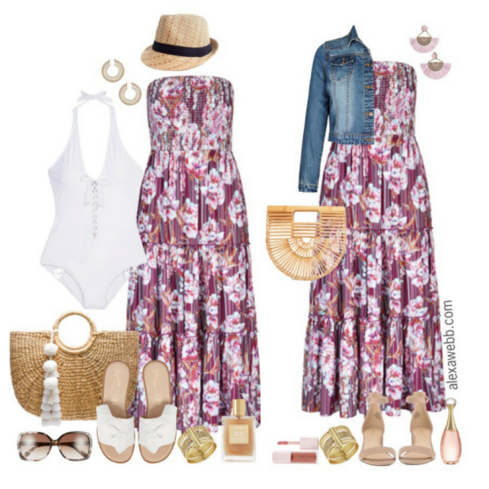 Plus Size Vacation Outfits - Alexa Webb