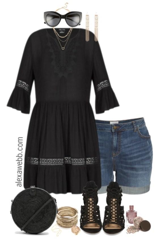 Plus Size Coachella Outfit Alexa Webb