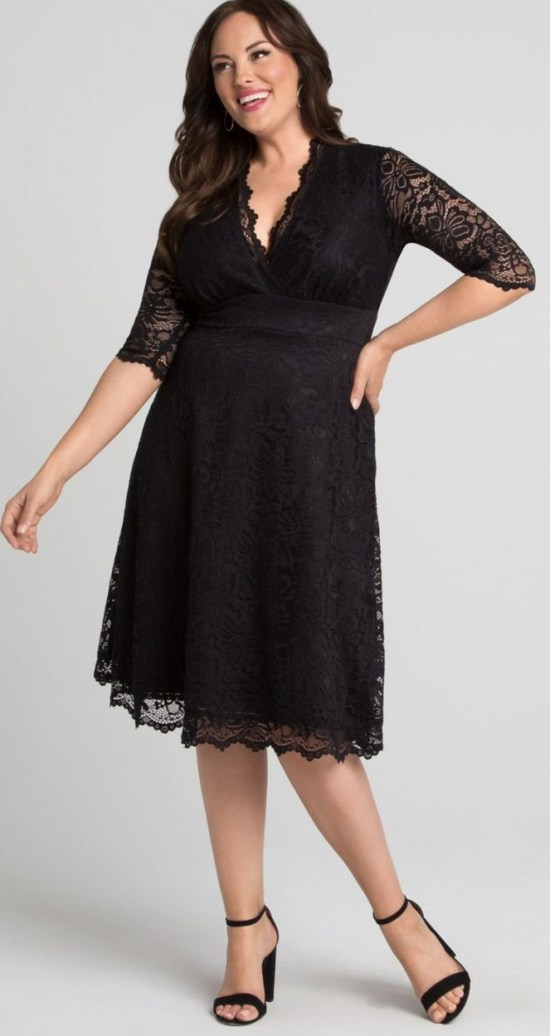 ce02a5c8ccc 21 Plus Size Wedding Guest Dresses  with Sleeves  - Plus Size Dresses - Plus