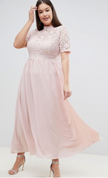 30 Plus Size Summer Wedding Guest Dresses {with Sleeves} - Alexa Webb