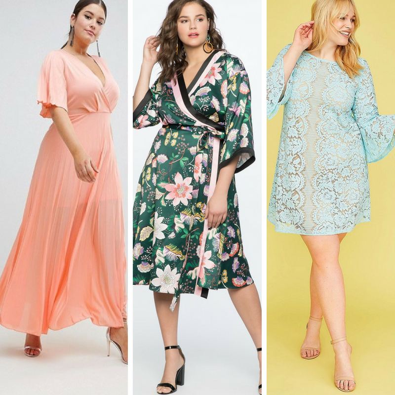 2a3b4e65e73 30 Plus Size Summer Wedding Guest Dresses  with Sleeves  - Alexa Webb