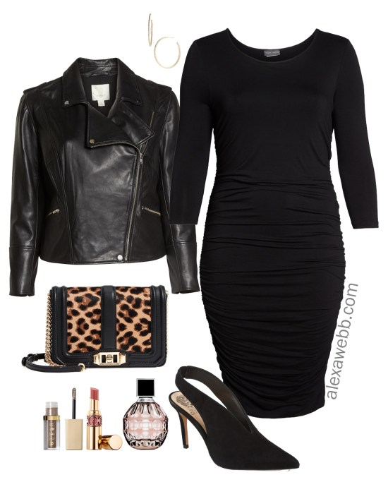Plus Size Little Black Dress Outfits - Plus Size Body Con Dress - Plus Size Fashion for Women - alexawebb.com #alexawebb #plussize