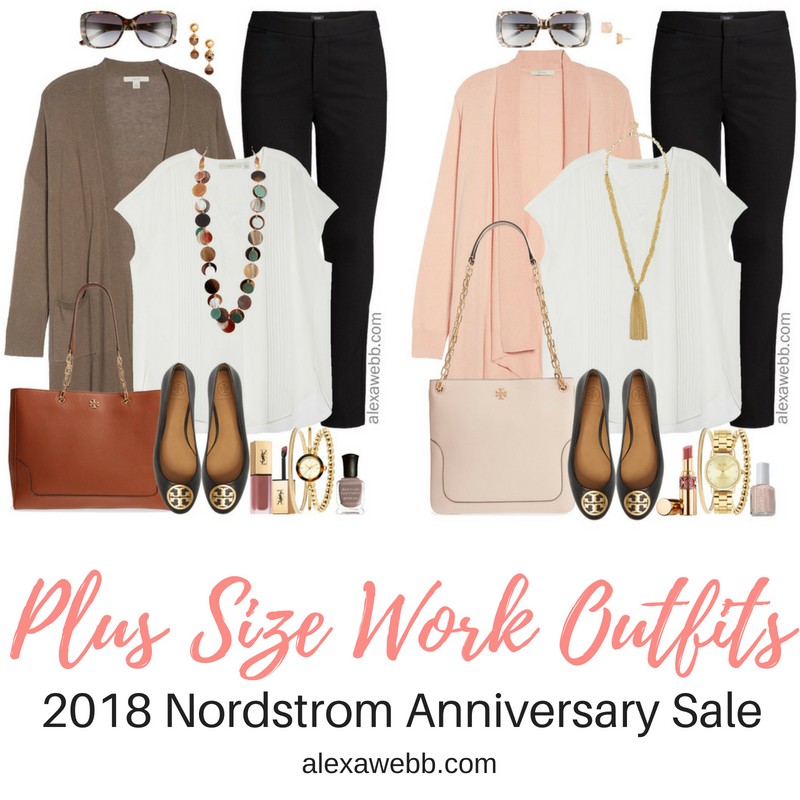 60ce0cd605b6f 2018 Nordstrom Anniversary Sale - Plus Size Work Outfits - Alexa Webb
