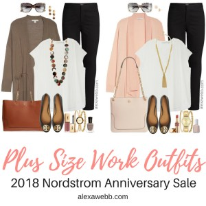 Plus Size Work Outfits - Nordstrom Anniversary Sale 2018 - Plus Size Fashion for Women - alexawebb.com #alexawebb #plussize #nsale #nordstromsale