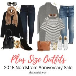 Plus Size Nordstrom Anniversary Sale 2018 Outfits - Plus Size Fashion for Women - alexawebb.com #alexawebb #plussize #nsale #nordstromsale