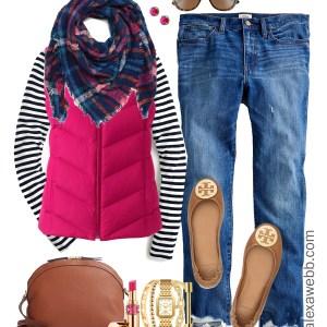 Plus Size Vest Casual Outfit - Plus Size Fall Winter Outfits - Plus Size Fashion for Women - alexawebb.com #plussize #alexawebb