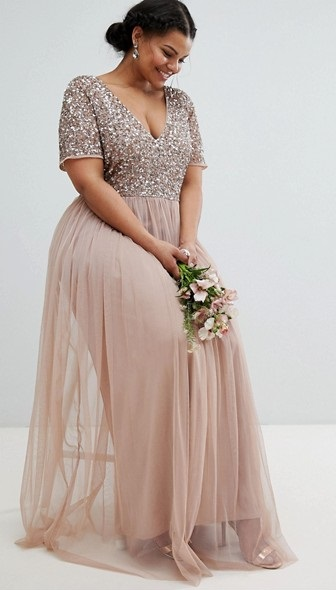 Wedding Guest Dress for Plus Size