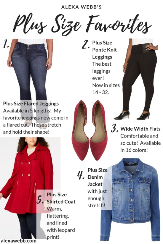 Alexa Webb's Plus Size Favorites for Fall and Winter #plussize #alexawebb