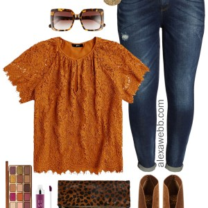 Plus Size Thanksgiving Outfits– Southern Edition - Part 1 - Plus Size Casual Fall Outfits - Plus Size Fashion for Women - alexawebb.com #plussize #alexawebb