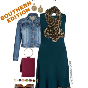 Plus Size Thanksgiving Outfits – Southern Edition - Part 3 - Plus Size Casual Fall Outfits - Plus Size Fashion for Women - alexawebb.com #plussize #alexawebb
