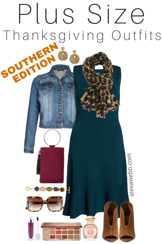 ff1502d9bc3 Plus Size Thanksgiving Outfits – Southern Edition – Part 3 - Alexa Webb