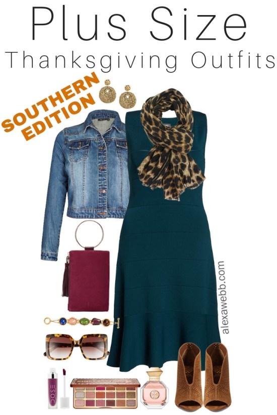 Plus Size Thanksgiving Outfits– Southern Edition - Part 3 - Plus Size Casual Fall Outfits - Plus Size Fashion for Women - alexawebb.com #plussize #alexawebb