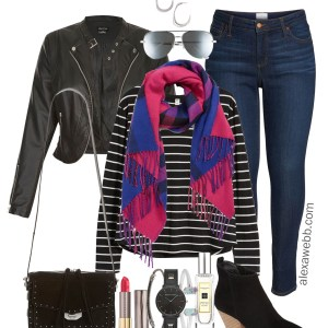 18e1f3717e539 Plus Size Black   Plaid Outfit - Plus Size Nordstom Sale Picks - Plus Size  Fashion