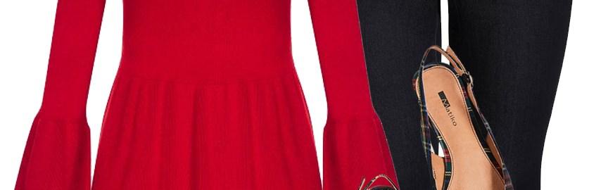 ae5ac4e6a7ef2 Plus Size Christmas Outfit - Alexa Webb