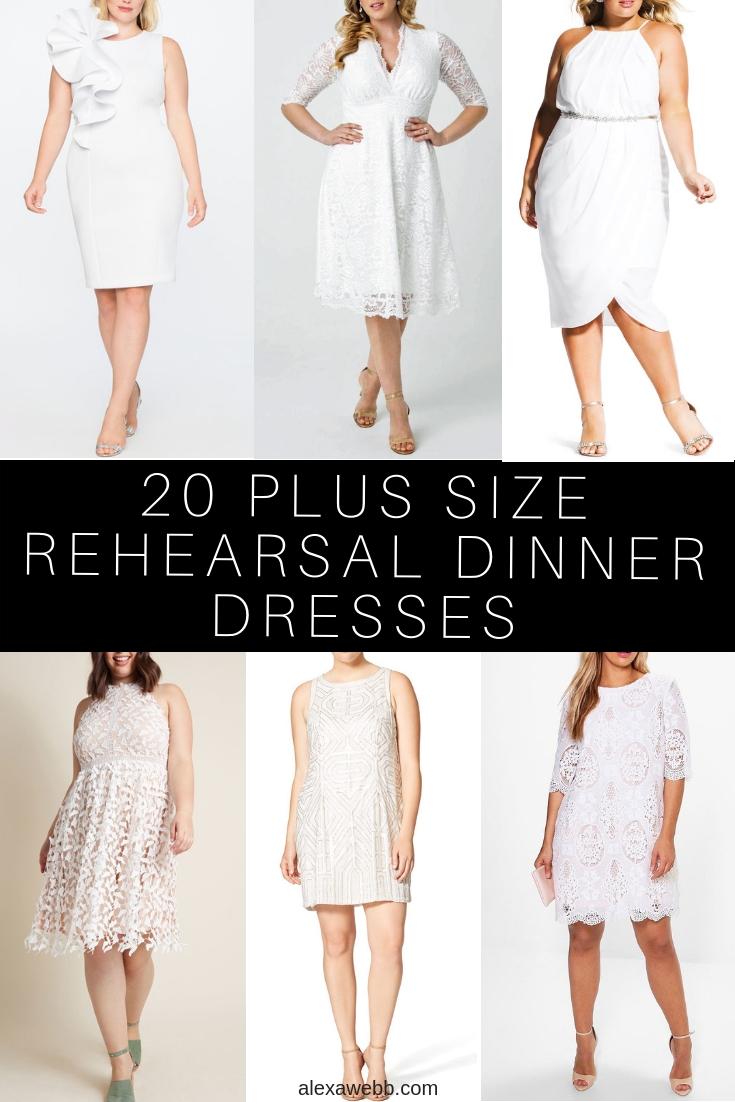 White Dress Size 20