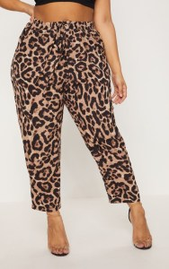 Plus Size Leopard Pants - Plus Size Fashion for Women - alexawebb.com #plussize #alexawebb