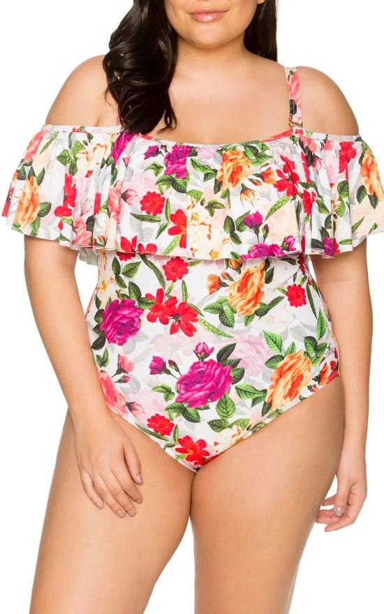 45 Plus Size Swimsuits - Plus Size Swimwear - Alexa Webb - alexawebb.com #plussize #alexawebb