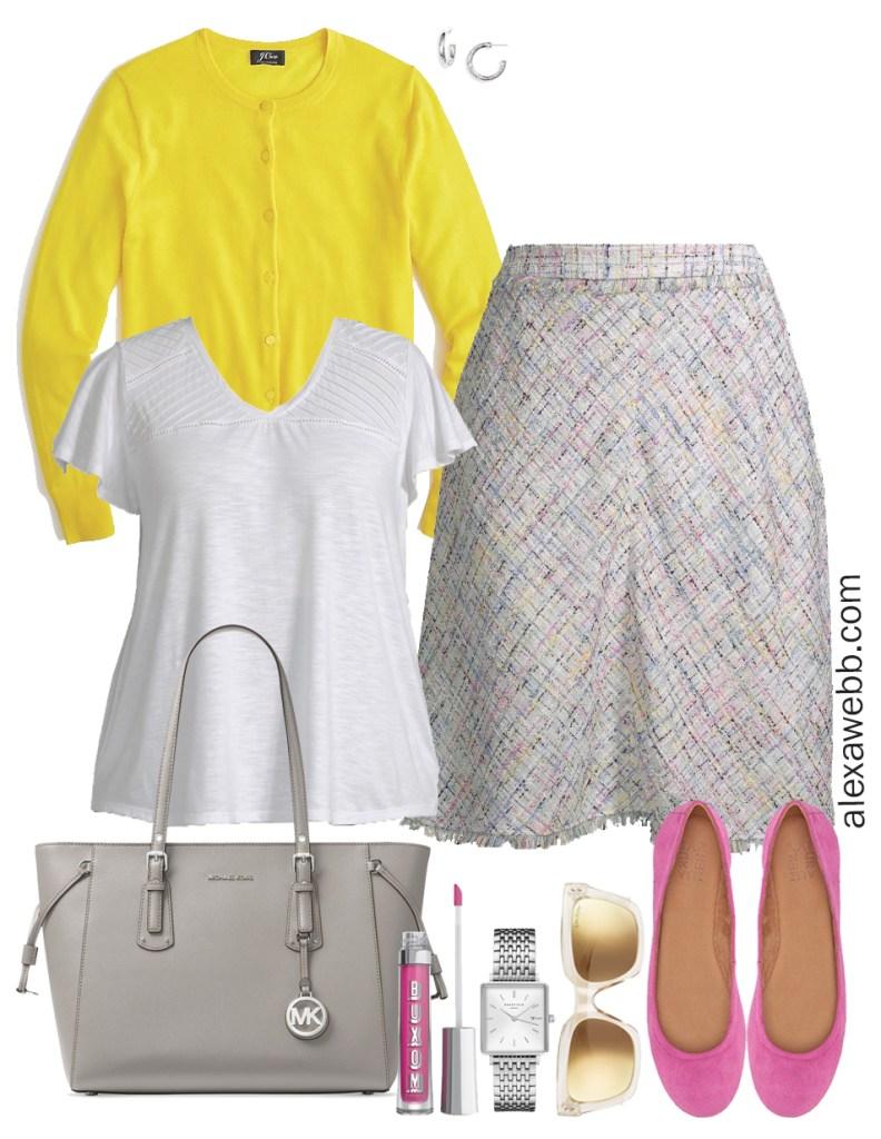 Plus Size Spring Work Outfit - Plus Size Workwear - alexawebb.com #plussize #alexawebb