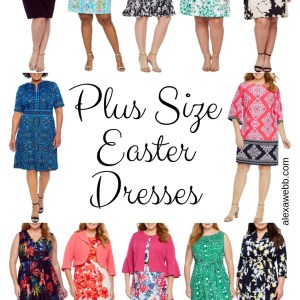 12 Plus Size Easter Dresses - Plus Size Spring Dresses for Women - alexawebb.com #plussize #alexawebb