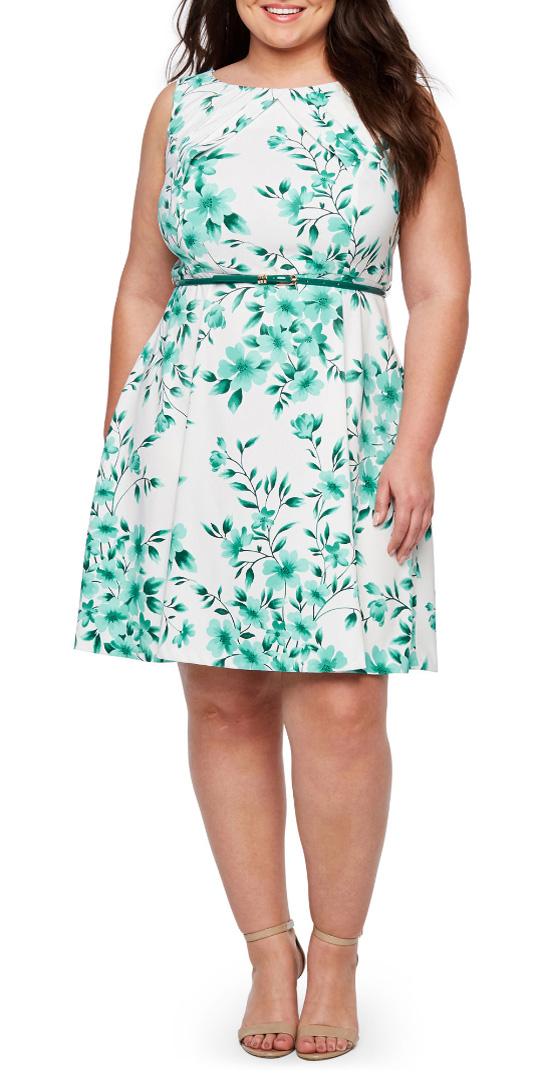 12 Plus Size Easter Dresses - Plus Size Spring Dresses for Women - alexawebb.com #plussize #alexawebb