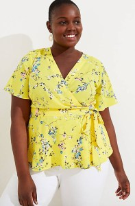 Plus Size Wrap Top Outfits - Plus Size Summer Outfits - alexawebb.com #plussize #alexawebb