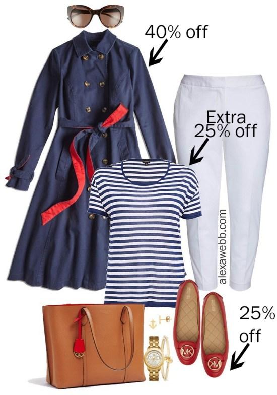 Plus Size Spring Sales - Business Casual Outfit - alexawebb.com #alexawebb #plussize