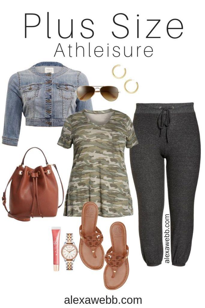 Plus Size Summer Athleisure Outfit Idea - Plus Size - Plus Size Fashion for Women - alexawebb.com #plussize #alexawebb