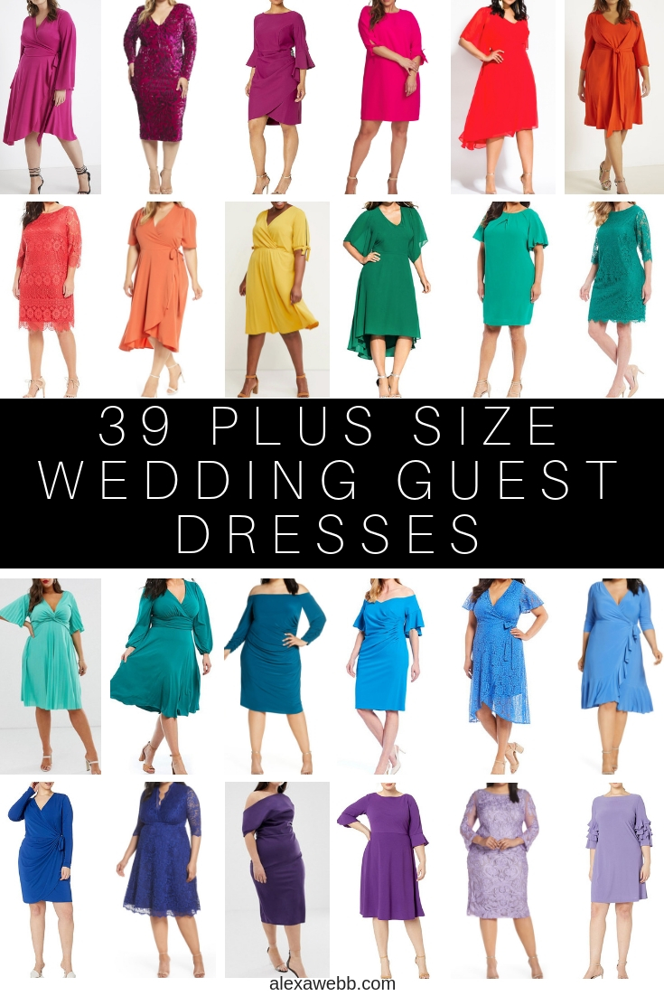 20 Plus Size Wedding Guest Dresses with Sleeves   Alexa Webb